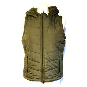 Athletic Collection Down Fir Puffer Vest Sz Large